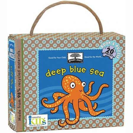 Green Start Book & Puzzle - Deep Blue Sea
