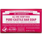 Dr. Bronner's Pure-Castile Bar Soap 140g - Rose