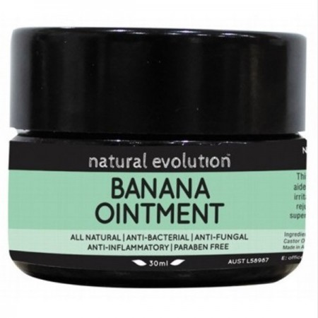 Natural Evolution Green Banana Ointment All Natural Healing Ointment 30ml