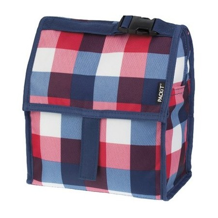 PackIt freezable Lunch Bag - Buffalo Check