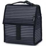 PackIt Freezable Lunch Bag - Gray Stripes