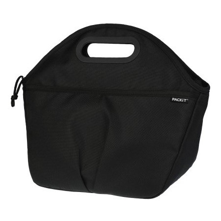 PackIt Freezable Traveller Lunch Bag - Black