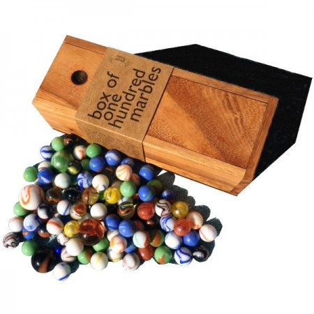 Planet Finska Box of 100 Marbles