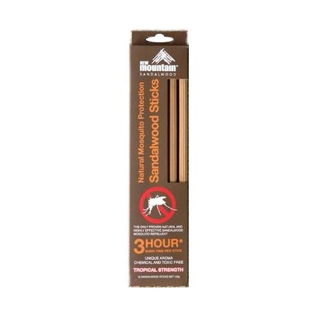 New Mountain sandalwood sticks refill - 3 hour