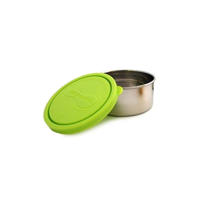 U Konserve 9oz 266ml Round Stainless Steel Container - Lime