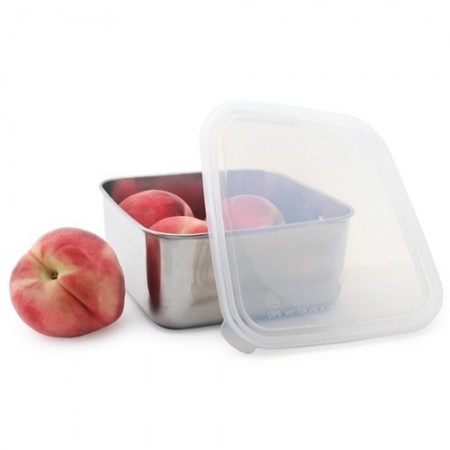 U Konserve To-Go Square Container 50oz 1.4L Clear Lid