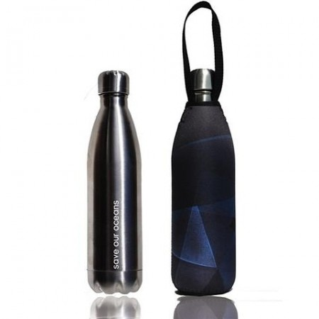 BBBYO Stainless Steel Water Bottle with Cover 750ml - Prism