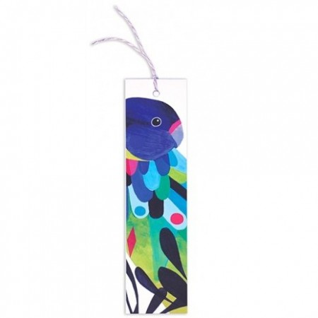 Earth Greetings Inaluxe Bookmark - Twenty Eight Parrot