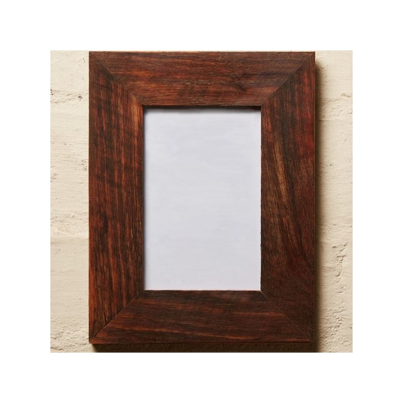 Recycled wood frame oiled 7 x 5