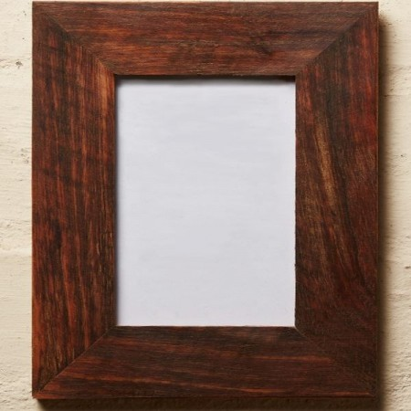 Recycled wood frame oiled 6 x 4
