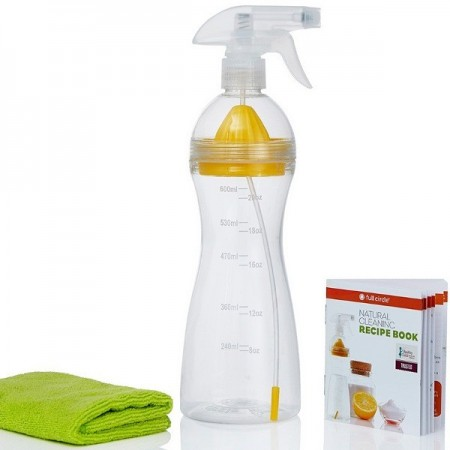 Full circle come clean - natural cleaning (single bottle-lemon juicer)