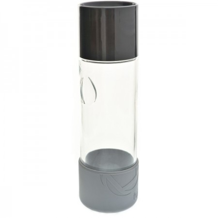 580ml Day Tripper glass water bottle - blackberry by Full Circle