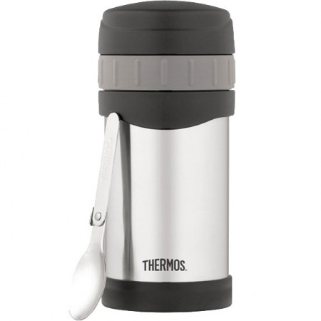 Thermos 470ml wide mouth food jar with folding spoon