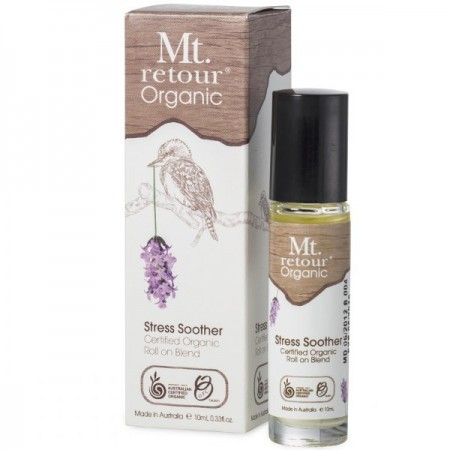 Mt Retour Organic essential oil roll on blend - stress soother