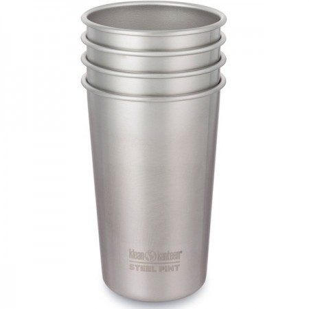 Klean Kanteen stainless steel cup set of 4