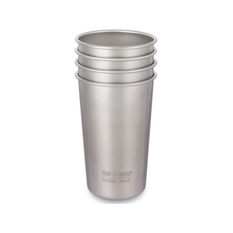 6c1a0c783a0 Klean Kanteen stainless steel cup set of 4   Biome