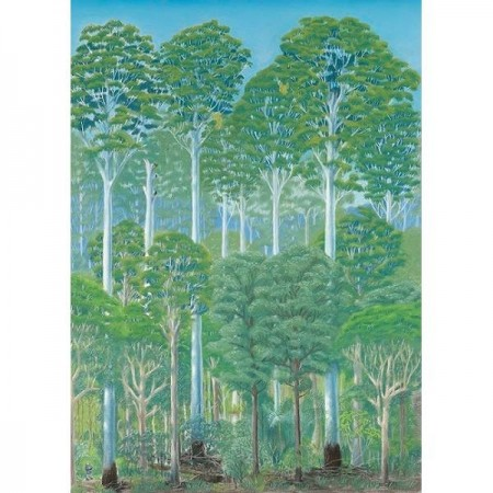 Paula Peeters Greeting Card Flooded Gum
