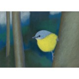 Paula Peeters Greeting Card Yellow Robin