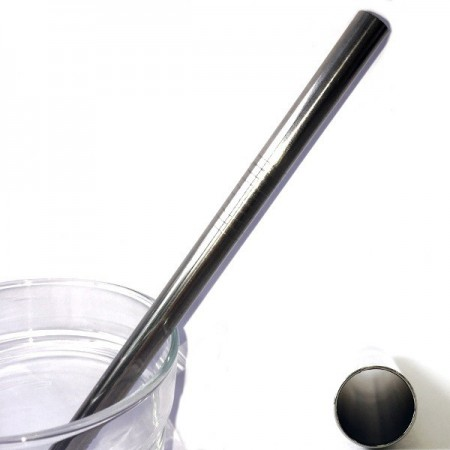 Stainless Steel Smoothie Straw (9.5mm) - Straight