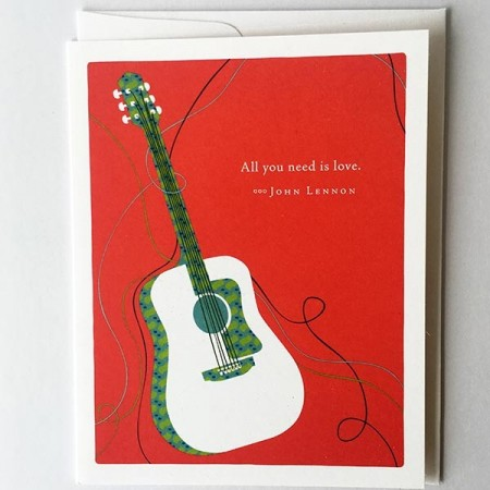 Card - All you need is love