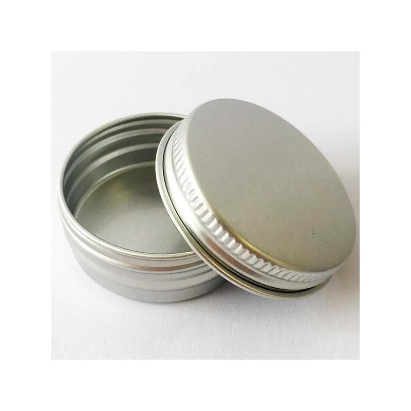 Aluminium Reusable Container with Lid 15ml