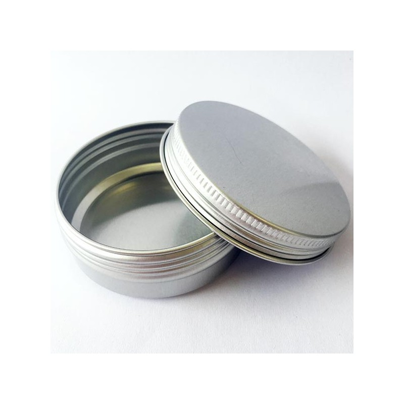 Aluminium Reusable Container with Lid 60ml