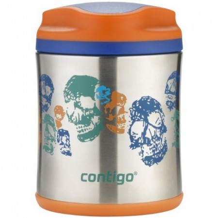 Contigo 300ml Insulated Food Jar - Skeletons
