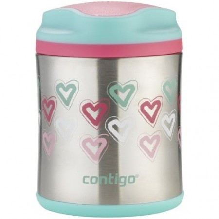 Contigo 300ml Insulated Food Jar - Hearts
