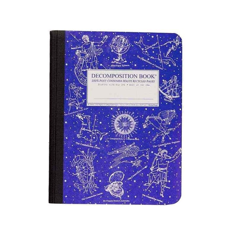 Decomposition Large Bound Notebook (Lined) - Celestial