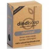 Dindi charcoal palm oil free natural soap 110g