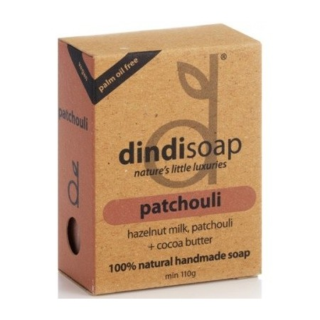 Dindi Patchouli palm oil free natural soap 110g