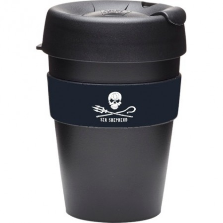 KeepCup medium coffee cup 12oz (340ml) - Sea Shepherd