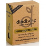 Dindi lemongrass tea palm oil free natural soap 110g