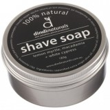 Dindi shaving soap in tin