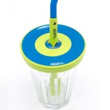 Cool Cap straw lids 2 pack - blue by Greenpaxx