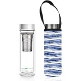 BBBYO Glass Tea Flask with Cover 500ml - Flow