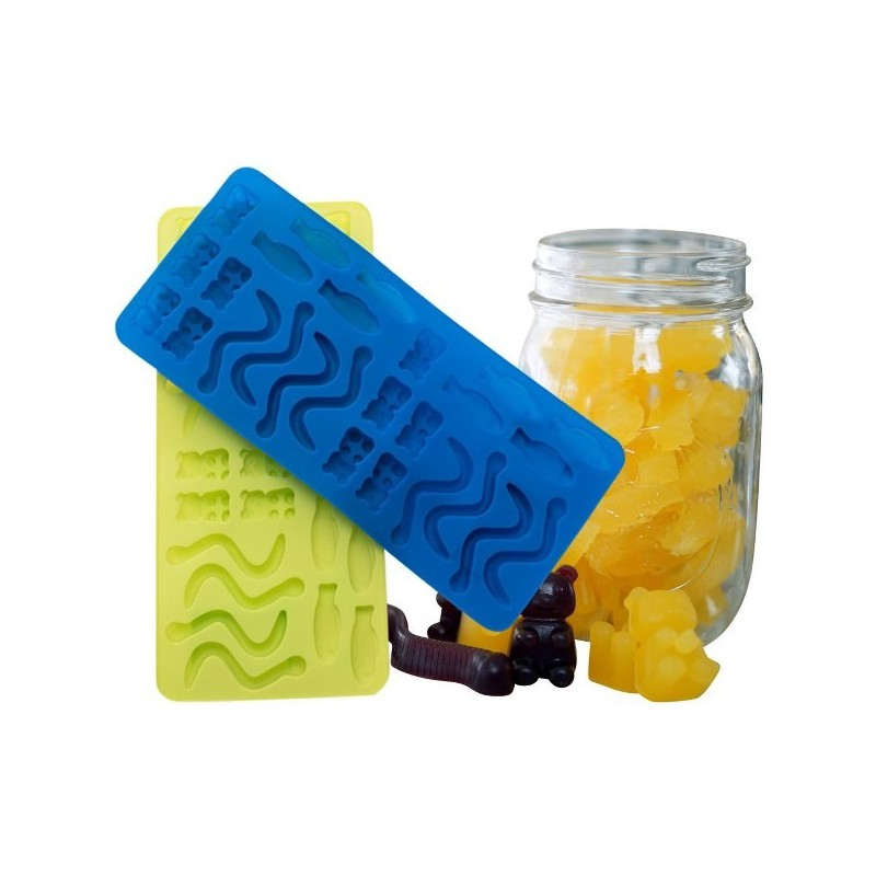 Silicone Gummy Moulds by Greenpaxx
