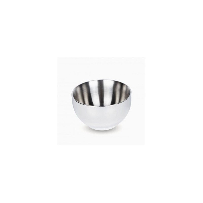 Onyx stainless steel double walled bowl 170ml