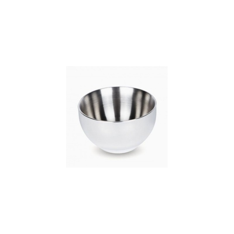 Onyx stainless steel double walled bowl 300ml