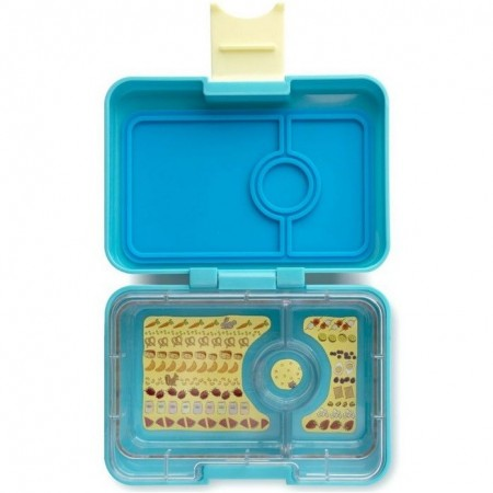 Yumbox MiniSnack - 3 Compartment Cannes Light Blue