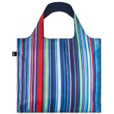 Loqi Reusable Shopping Bag - Nautical Stripes
