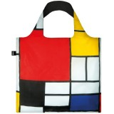 Loqi Reusable Shopping Bag - Piet Mondrian