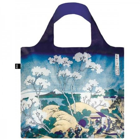 Loqi Reusable Shopping Bag - Museum Fuji