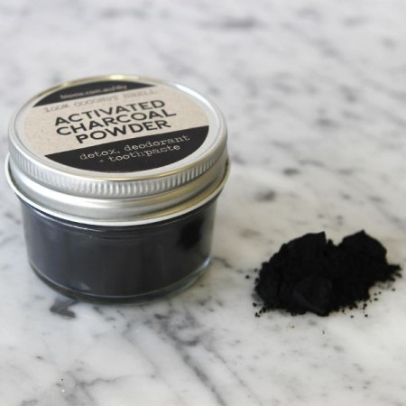 Activated Charcoal in Glass Jar 25g