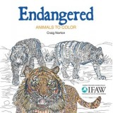 Endangered: Animals To Colour