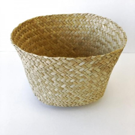 Woven Seagrass Basket - Oval