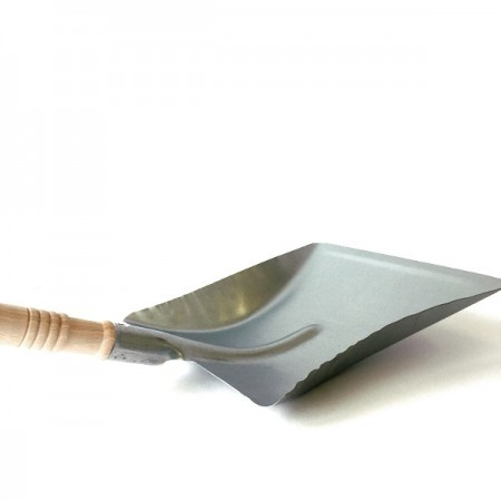 Galvanised Metal Dustpan