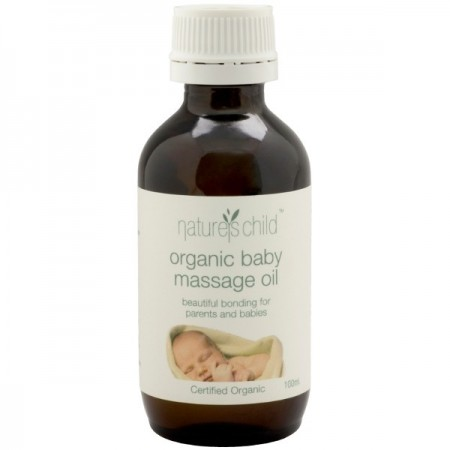 Nature's Child Organic Baby Massage Oil 100ml