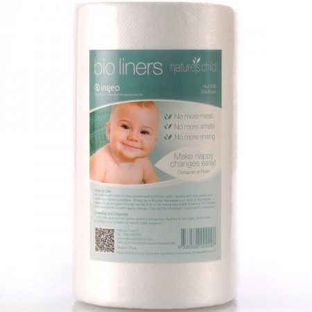 Nappy Liners - Nature's Child Bio Liners (flushable)