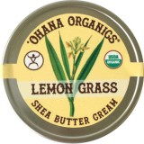 Ohana Organics Shea Butter Cream - Lemongrass